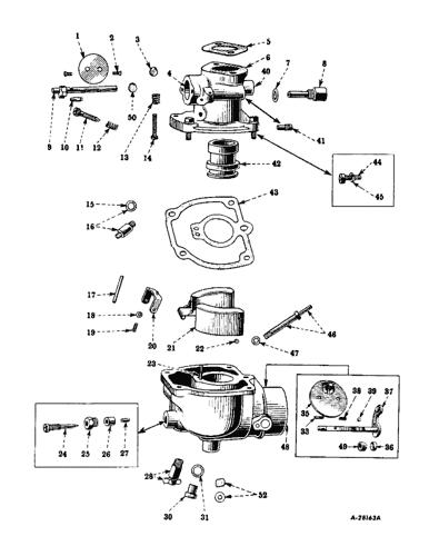 farmall m carburetor parts diagram  schematic wiring