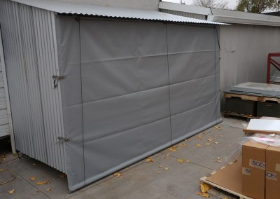 Outdoor weather curtains