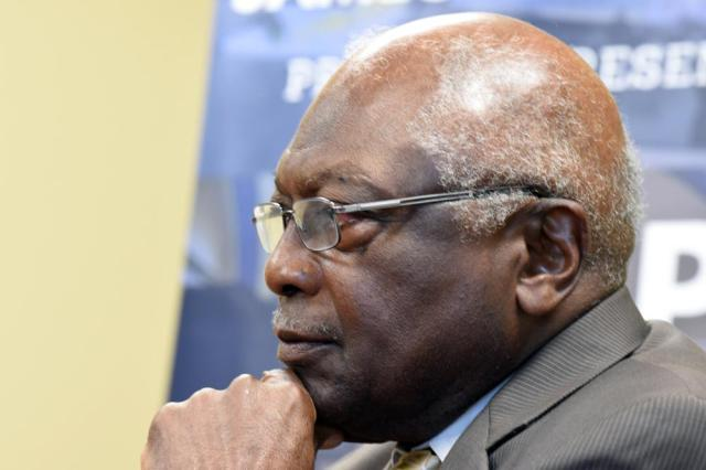 U.S. House Majority Whip Jim Clyburn listens as he speaks with reporters ahead of a town hall meeting in his district on Wednesday, July 14, 2021, in Hopkins, S.C. (AP Photo/Meg Kinnard)