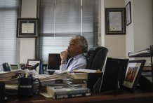 Decades later, Sharpton still insists: No justice, no peace