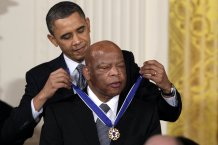 Political leaders mourn the passing away of Rep. John Lewis
