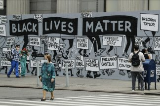 A dramatic, hopefully effective, change in how Americans view police violence