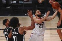 Fred VanVleet leads Raptors to 134-110 triumph over Brooklyn Nets