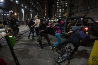 Nearly two-thirds of those arrested at Detroit protest are from the city's predominantly white suburbs