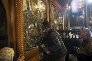 Palestinian tourism ministry announces closing of the storied Church of the Nativity in the city of Bethlehem indefinitely over fears of the coronavirus; disruption in tourist industry