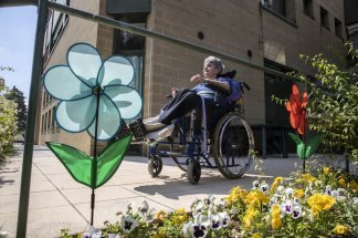 It's a good thing: Nursing home residents allowed visits from family
