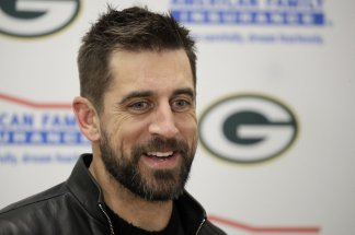 Aaron Rodgers says Packers' decision to draft Jordan Love surprised him