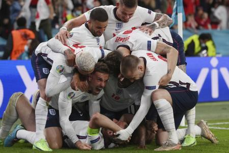 Harry Kane's Extra-time Penalty Rebound Goal Seals Epic 2-1 Win Over Denmark Puts Three Lions Into their First Major Final Since 1966