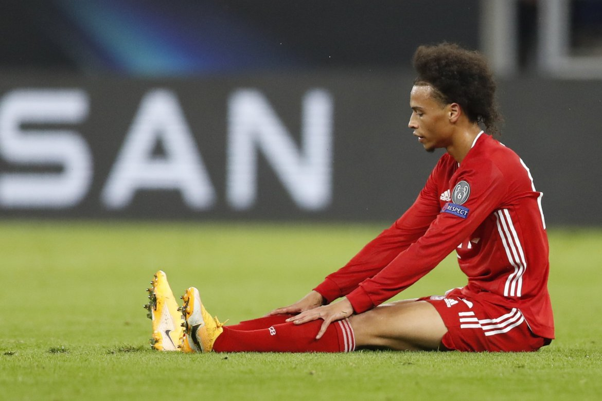 Leroy Sané back in training with Bayern Munich after injury