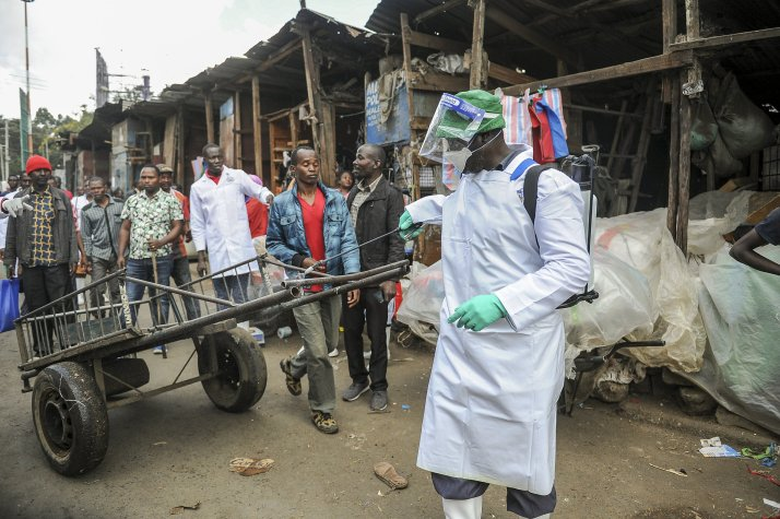 Africa lockdowns begin as coronavirus cases above 1,000