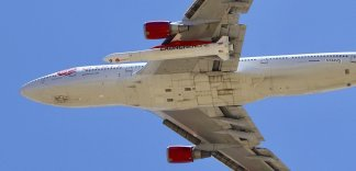 Richard Branson's Virgin Orbit failed in its first test launch of a new rocket carried aloft by a Boeing 747