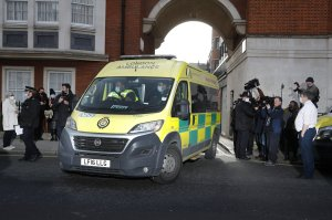 Prince Philip moved to a specialized heart hospital in London
