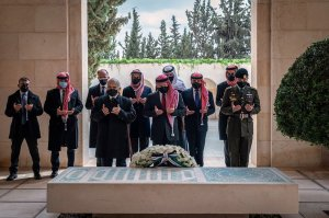 Jordanian prince makes his first public appearance since his arrest