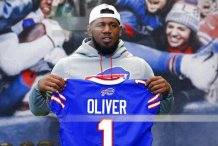 Buffalo Bills' Ed Oliver charged with drunken driving and illegal possession of handgun in Texas