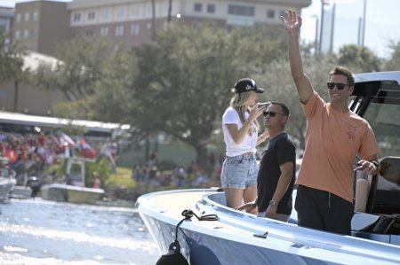 Tom Brady Says he Contracted Coronavirus Shortly After Tampa Bay Buccaneers' Super Bowl Boat Parade and Says he Believes Coronavirus will Play More of a Factor this Season than Last Season