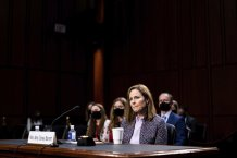 Amy Coney Barrett served for nearly three years on the board of private Christian schools with anti-gay policies