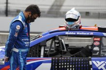 President Trump lashes out at NASCAR's only full-time black driver Bubba Wallace accusing him of creating a hoax and suggesting he should apologize