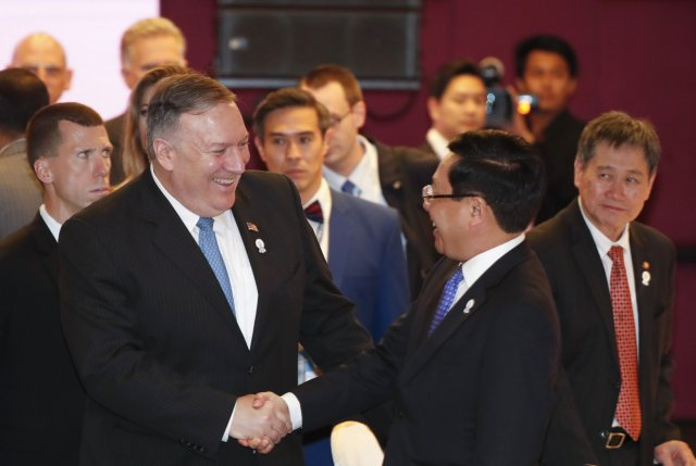 Image result for Mike pompeo cambodia