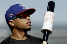 Texas Rangers' Willie Calhoun Suffers Fractured Jaw After Taking Fastball to Mouth