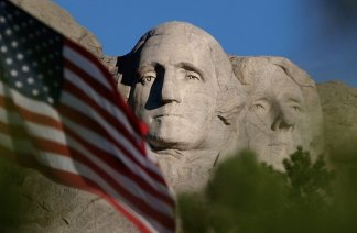 Protesters Block Entrance to Mt. Rushmore Ahead of Trump's July 4th Celebration