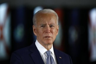 """"""". . . we need real leadership right now. Leadership that will bring everyone to the table so we can take measures to root out systemic racism."""" Who is showing """"real leadership""""? Joe Biden or President Trump?"""