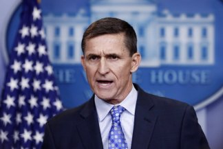 President Trump welcomes the Flynn action stating he didn't know the Justice Department was planning to drop its case against his former national security adviser