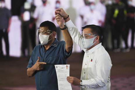 Duterte declares his retirement from politics