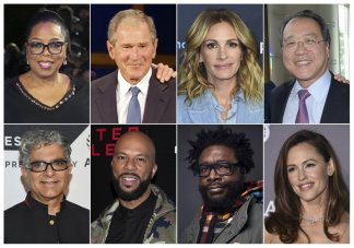 Oprah Winfrey, Julia Roberts, and former President George W. Bush will be among 200 star-studded participants in the Call to Unite 24-hour global livestream event
