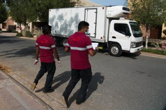 Dubai's two major alcohol distributors have partnered to offer home delivery of beer, spirits, and wine: another loosening of social mores in this Islamic city-state