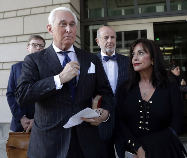 Roger Stone Guilty Of Witness Tampering Lying To Congress