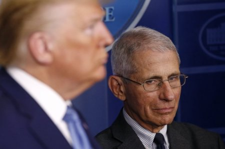 'I Can't Jump in Front of the Microphone and Push him Down': As Expected, Dr. Fauci and President Trump Clash