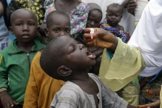 Report from the World Health Organization: The coronavirus pandemic is interrupting immunization against diseases that could put the lives of nearly 80 million children under the age of 1 at risk