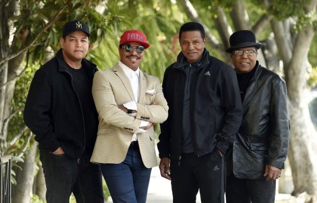 Taj Jackson, Jackie Jackson, Tito Jackson, Marlon Jackson