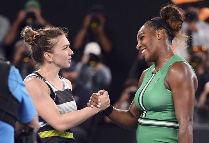 Serena Williams, Simona Halep