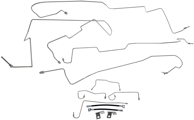 Ford F 150 Heritage Brake Hydraulic Line Kit