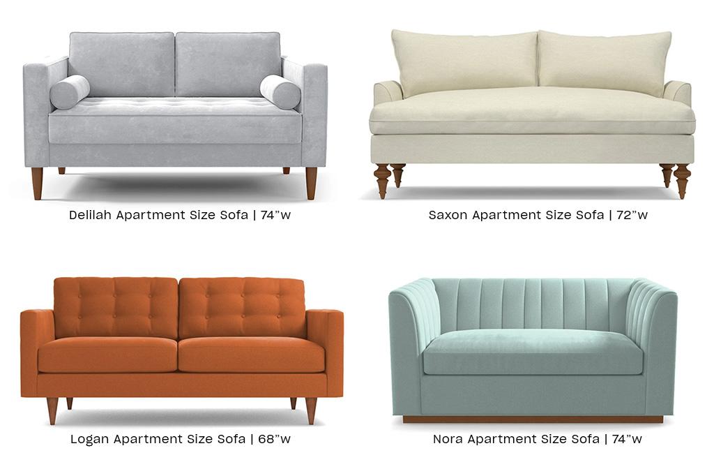 apartment size sofa vs regular size