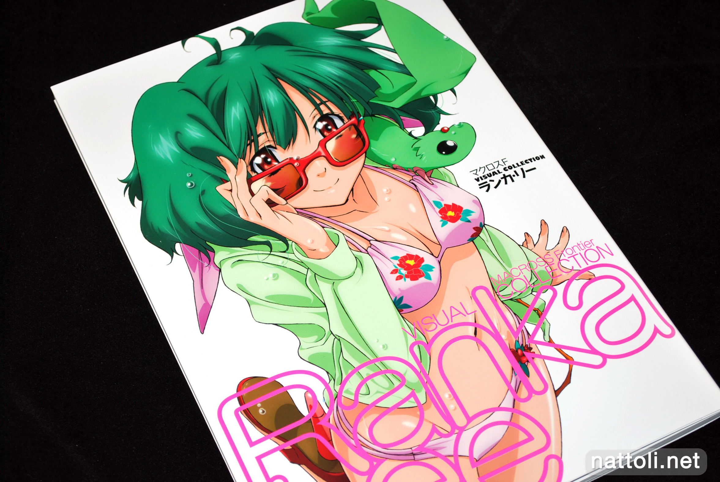 Book JAPAN Macross Frontier Visual Collection Ranka Lee