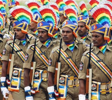 central and state forces police personnel