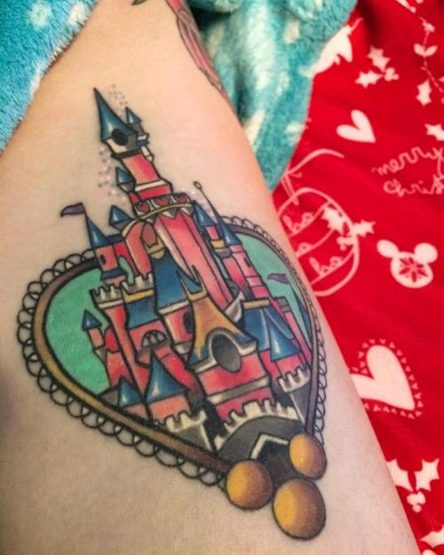 Disney tattoo by Jordan Baker