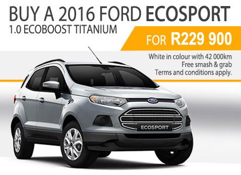 2016 Ford 1.0 Ecoboost Titanium special - R229 900
