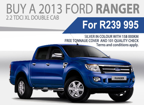 2013 Ford ranger 2.2 TDCi XL Double Cab special