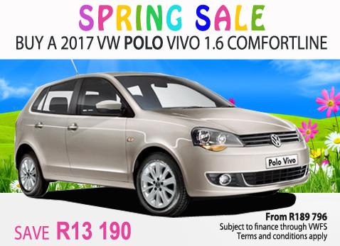 2017 VW Polo Vivo 1.6 Comfortline - Save R13 190