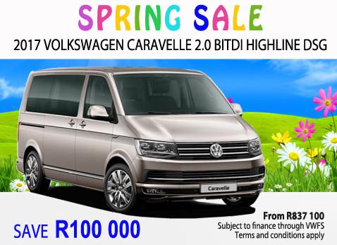 2017 Volkswagen Caravelle 2.0 BITDi Highline - Save R100 000