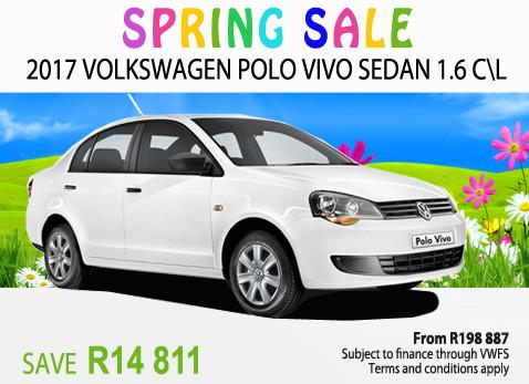 2017 VW Polo Vivo Sedan 1.6 C/L - Save R14 811