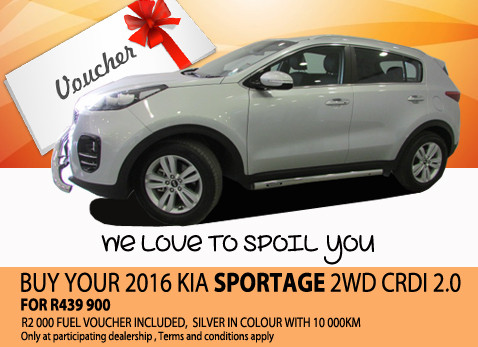 2016 Kia Sportage 2WD CRDI 2.0