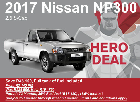 2017 Nissan NP 300 2.5 S/C special - Save R45 100