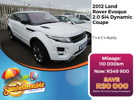 2012 LAND ROVER EVOQUE 2.0 SI4 DYNAMIC COUPE
