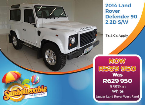 2014 LAND ROVER DEFENDER 90 2.2 D S/W - Save R40 000