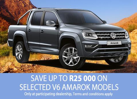 Save up to R25 000 on VW Amarok V6