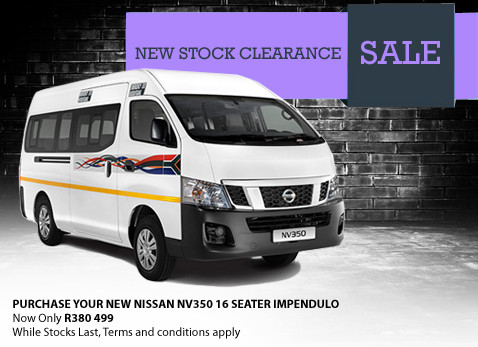 NEW NISSAN NV350 16 SEATER IMPENDULO special